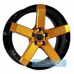 Купить Легковой диск PDW Fury Black Plus Orange With Milling R18 W8 PCD5x114.3 ET40 DIA73.1
