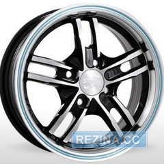 Купить Легковой диск STORM PN 319 MWRLL R13 W5.5 PCD4x100 ET35 DIA67.1
