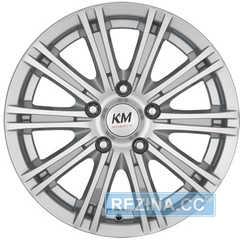 Купить KORMETAL KM 685 S R15 W6.5 PCD5x114.3 ET40 DIA67.1