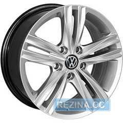 Купить Легковой диск REPLICA VOLKSWAGEN BK5293 HS R16 W7 PCD5x112 ET41 DIA57.1