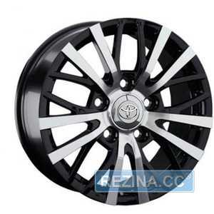 Купить Легковой диск REPLICA LegeArtis TY245 BKF R18 W8 PCD5x150 ET56 DIA110.1
