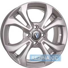 Купить Легковой диск TECHLINE 1504 SL R15 W6 PCD4x100 ET46 DIA67.1