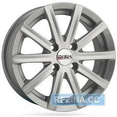 Купить Легковой диск DISLA Baretta 405 GM R14 W6 PCD4x100 ET37 DIA67.1