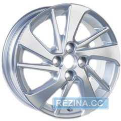 Легковой диск REPLICA GT 1057D Silver - rezina.cc