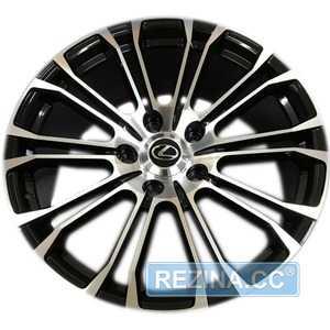 Купить Легковой диск REPLICA LX1125 BKF R22 W10 PCD5x150 ET40 DIA110.1