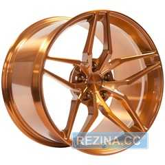 Купить Легковой диск VISSOL Forged F-928 GLOSS GOLD R19 W8.5 PCD5x100 ET45 DIA56.1
