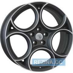Купить Легковой диск WSP ITALY W260 GRECALE MATT GUN METAL POLISHED R19 W8 PCD5x110 ET34 DIA65.1