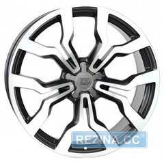 Купить WSP ITALY MEDEA AU65 W565 DULL BLACK POLISHED R18 W7.5 PCD5x112 ET54 DIA57.1