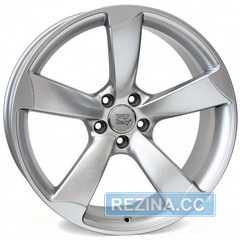 Купить WSP ITALY GIASONE W567 HYPER SILVER R19 W8 PCD5x112 ET49 DIA57.1