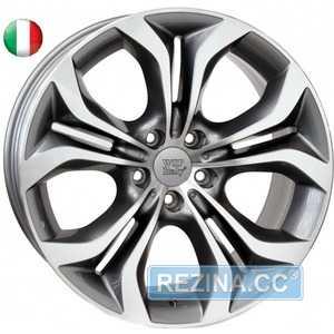 Купить WSP ITALY AURA W674 ANTHRACITE POLISHED R19 W9 PCD5x120 ET37 DIA72.6
