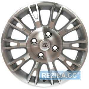 Купить Легковой диск WSP ITALY VALENCIA W150 SILVER POLISHED R14 W5.5 PCD4x100 ET35 DIA56.6