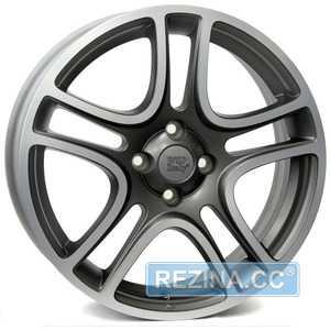 Купить Легковой диск WSP ITALY ERATO W160 MATT GREY POLISHED R16 W6 PCD4x100 ET45 DIA56.6