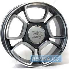 Купить Легковой диск WSP ITALY ABARTH W157 ANTHRACITE POLISHED R17 W7 PCD4x100 ET37 DIA56.6