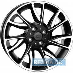 Купить Легковой диск WSP ITALY TARANTO W318 DULL BLACK POLISHED R15 W6 PCD4x98 ET30 DIA58.1