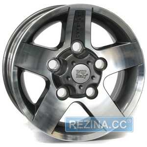 Купить Легковой диск WSP ITALY MALI W2354 ANTHRACITE POLISHED R16 W7 PCD5x165 ET33 DIA114