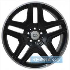 Купить Легковой диск WSP ITALY AMG NERO W766 DULL BLACK R POLISHED R21 W10 PCD5x112 ET56 DIA66.6