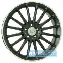 Купить WSP ITALY MERCEDES SHANGHAI ME12 DULL BLACK R POLISHED W773 R19 W8 PCD5x112 ET43.5 DIA66.6