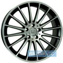 Купить WSP ITALY MERCEDES SHANGHAI ME12 DULL BLACK FULL POLISHED W773 R19 W8 PCD5x112 ET48 DIA66.6