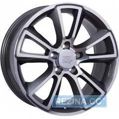 Купить Легковой диск WSP ITALY MOON OP04 W2504 ANTHRACITE POLISHED R19 W8 PCD5x105 ET40 DIA56.6