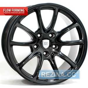 Купить WSP ITALY PORSCHE Corsair GT3/RS FL.F PO52 GLOSSY BLACK W1052 R19 W12 PCD5x130 ET67 DIA71.6
