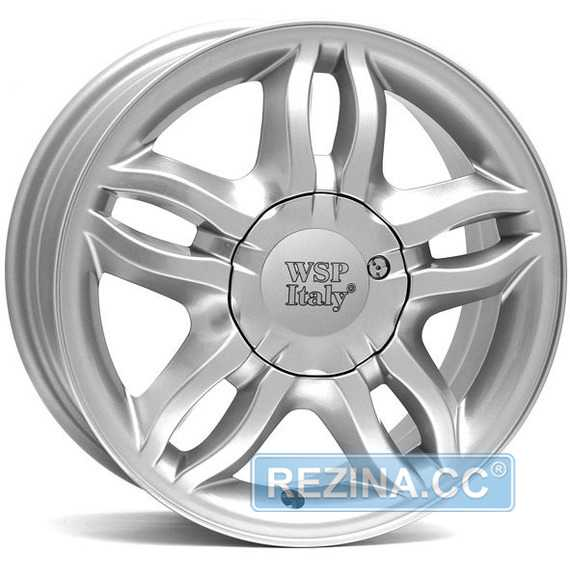 Легковой диск WSP ITALY BORDEAUX W3301 SILVER - rezina.cc