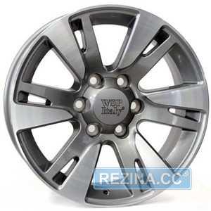 Купить WSP ITALY VENERE TO65 W1765 ANTHRACITE POLISHED R20 W8,5 PCD6x139.7 ET40 DIA106.1
