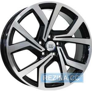 Купить Легковой диск WSP ITALY GIZA W469 GLOSSY BLACK POLISHED R18 W7.5 PCD5x100 ET51 DIA57.1