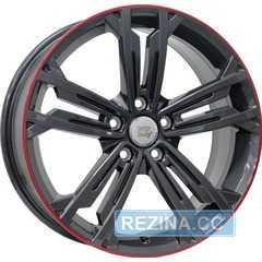 Купить Легковой диск WSP ITALY NAXOS W471 ANTHRACITE LIP RED R18 W7.5 PCD5x112 ET49 DIA57.1