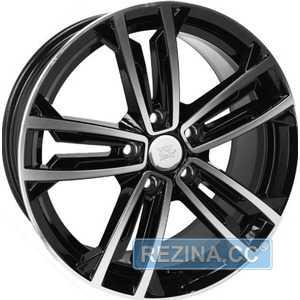Купить Легковой диск WSP ITALY NAXOS W471 GLOSSY BLACK POLISHED R18 W7.5 PCD5x112 ET49 DIA57.1