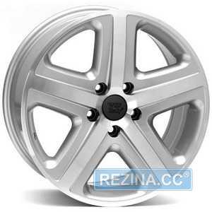 Купить WSP ITALY ALBANELLA W440 SILVER POLISHED R18 W8 PCD5x130 ET45 DIA71.6