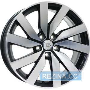 Купить Легковой диск WSP ITALY CHEOPE W468 GLOSSY BLACK POLISHED R18 W8 PCD5x112 ET44 DIA57.1