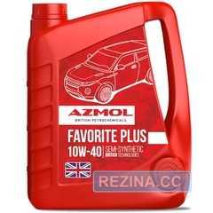 Купить Моторное масло AZMOL Favorite Plus 10W-40 (4л)