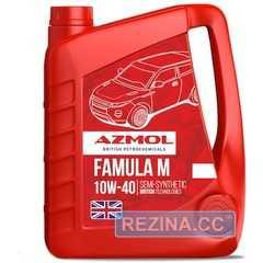 Моторное масло AZMOL Famula M - rezina.cc