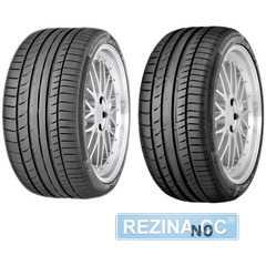Купить Летняя шина CONTINENTAL ContiSportContact 5 255/60R18 108Y
