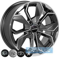 Купить Легковой диск ZW 6362 MK-P R15 W6.5 PCD4x100 ET38 DIA67.1