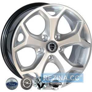 Купить Легковой диск REPLICA RENAULT 547 HS R16 W7 PCD5x118 ET40 DIA71.1