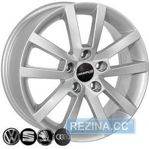 Купить Легковой диск REPLICA SKODA BK711 S R16 W6.5 PCD5x112 ET50 DIA57.1