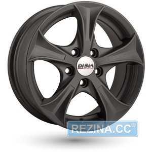 Купить DISLA Luxury 506 GM R15 W6.5 PCD4x108 ET40 DIA63.4