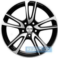 Купить Легковой диск GMP Italia ASTRAL Black Diamond R17 W7 PCD4x98 ET35 DIA58,1
