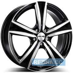 Купить Легковой диск GMP Italia ARGON Black Diamond R17 W7 PCD4x108 ET40 DIA63.4