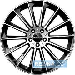 Легковой диск GMP Italia STELLAR Black Diamond - rezina.cc
