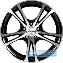 Купить Легковой диск GMP Italia EASY-R Black Diamond R15 W6.5 PCD4x100 ET35 DIA67.1