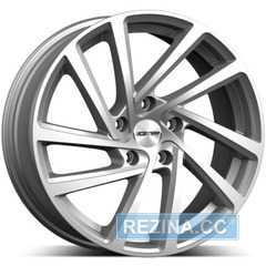 Купить Легковой диск GMP Italia WONDER Silver R16 W6.5 PCD5x100 ET42 DIA57.1