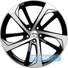 Купить Легковой диск GMP Italia KATANA Black Diamond R19 W8 PCD5x112 ET35 DIA66,5