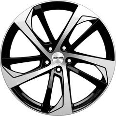 Купить Легковой диск GMP Italia KATANA Black Diamond R19 W8 PCD5x112 ET45 DIA66,5