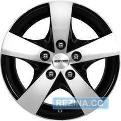 Купить Легковой диск GMP Italia JOB Black Diamond R15 W6.5 PCD5x118 ET60 DIA71.1