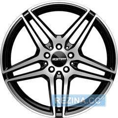 Купить Легковой диск GMP Italia MYTHOS Black Diamond R18 W8 PCD5x112 ET45 DIA66,6