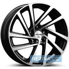 Купить Легковой диск GMP Italia WONDER Black Diamond R19 W8 PCD5x112 ET45 DIA57.1