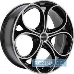 Купить Легковой диск GMP Italia DRAKE Black Diamond R19 W9 PCD5x110 ET44.5 DIA65.1
