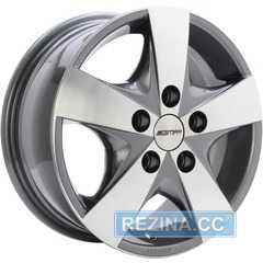 Купить Легковой диск GMP Italia JOB Anthracite Diamond R16 W6.5 PCD5x130 ET60 DIA78.1